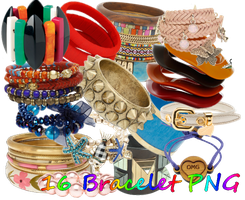 Bracelet PNG set1 by JEricaM