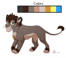 Frodo Lion Redesign by WindWo1f