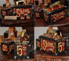 shoeshine box tattoo power supply by BUTL950