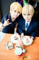 6/9 Kurusu twins birthday by gk-reiko