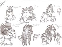 WoW OCs 01 by Lyriith