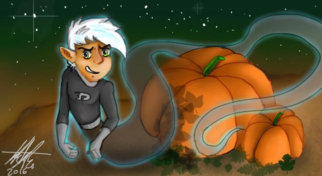 Danny Phantom Halloween contest. by BlueTiger19
