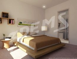 Project townhouse: Bedroom by aXel-Redfield