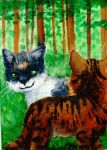 ACEO 08 - Back in our Childhood by Raksaka