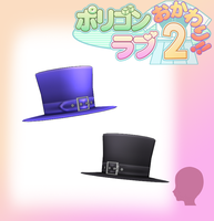PL2- Top Hats -DL by MMDFakewings18