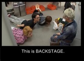 This is Backstage by Mika096