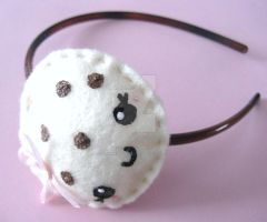 Chocolate Chip Cookie Headband by SabrinaDeeBerry