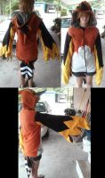 FINISHED: Fletchinder Hoodie by FateCrystal