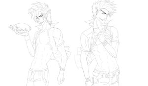Hiruma Brothers W.I.P. by R-Blackout