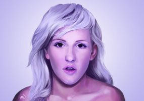 Ellie Goulding - Hanging On by TiffanyHen