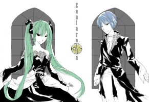 VOCALOID - Cantarella by pseudopsych