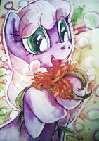 Cheerilee's Flowers by Fyre-Flies