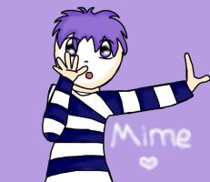 human mime by wen016