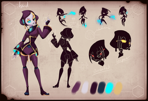 Astrid Character Reference 2 by chicinlicin