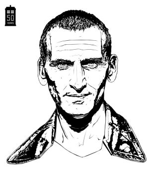 Doctor Who Christopher Eccleston by bigdoo
