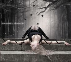 As I lay by Sannalee01