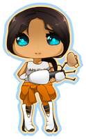 Chell by precrastinate
