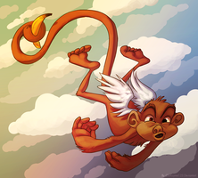 Monkies DO fly by clumzyme123