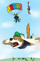 Skydiving by Wolfsstorm11