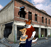 City Lessons by SolitaryGrayWolf