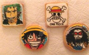One Piece cookies by Bluesoul1