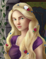 Rapunzel by Limerry