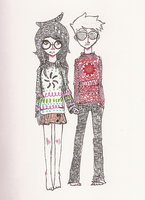 sad silly sweaters by Juleebean