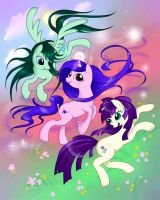 All the Ponies by Manden