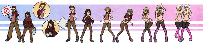 Protest Bimbos by Wrenzephyr2
