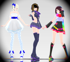 [MMD] How even by Supurreme