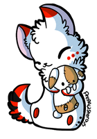 :Chibi Riley: by PrePAWSterous