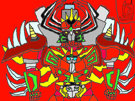 Dinosaur King Megazord by conlimic000