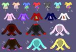 CHEAP Clothes Adopts closed by MyuOneeChan