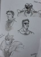 TFP: KO BD SKETCHES by chainedsinner