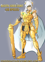 DIGITAL GOLDEN SAINT LEO APELLES by Ishida1694
