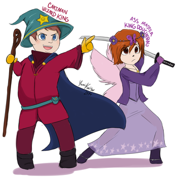 Stick of Truth :: Cartman and Ass Master by Yamikaisu