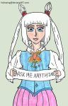 Ask my OC anything: With Cherry Henderson. by Halowing