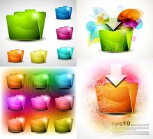 free crystal folder icons by FreeIconsFinder