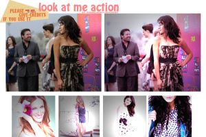 look at me action. by omgareladiess