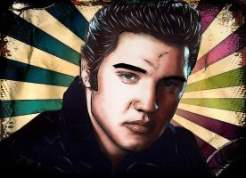 The King Elvis by LATINAAM0R