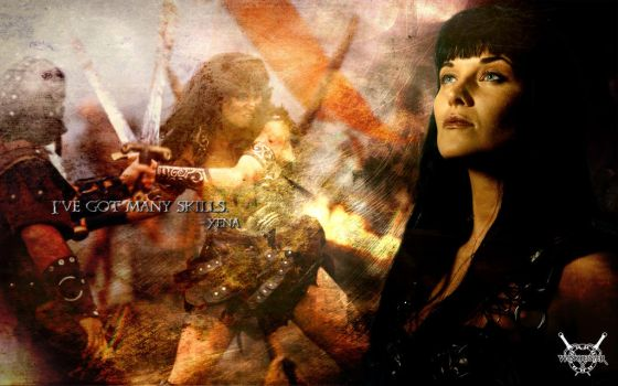 Xena-Character-Wallpaper by winch3s7er