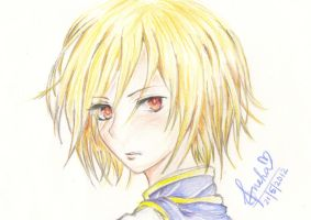 Kurapika - Hunter x Hunter by EverHopelesslyInsane
