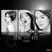 Song Hye Kyo Drawing Collage by riefra