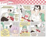 Pink Lovers 60 -S7- VxB doujin by nenee