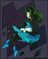 'A Witch In Space' HOMESTUCK SHIRT CONTEST by KateeCloud