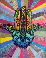 Hand of Hamsa by andromeda