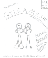 The Epic of Gilgamesh -1- by Sorcyress