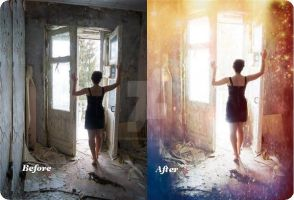 Before and after by ItSurroundsMe