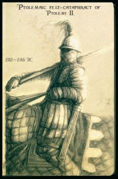 Ptolemaic early cataphract by Merlkir