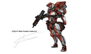I/CQC-07 Red by hhello
